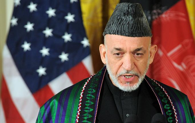 Afganistan Devlet Başkanı Hamid Karzai CIA'den Para aldığını Açıkladı
