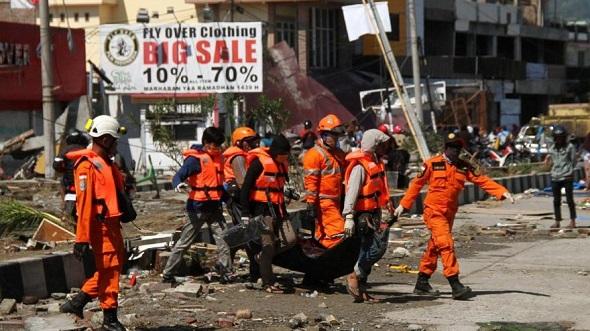 ENDONEZYA'DA ÖLÜ SAYISI 832 KİŞİYİ BULDU