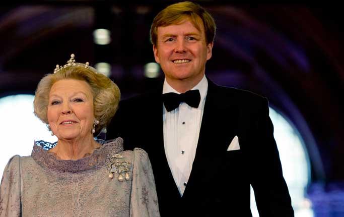 Hollanda Kralını Değiştiriyor
