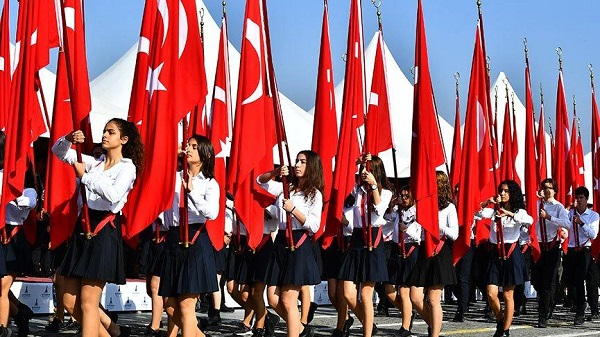 CUMHURİYET BAYRAMI'MIZIN 97'NCİ YILI KUTLU OLSUN...