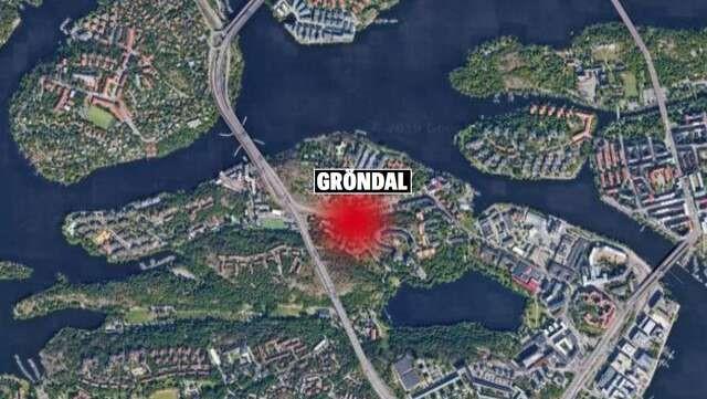 GRÖNDAL'DA ŞİDDETLİ PATLAMA