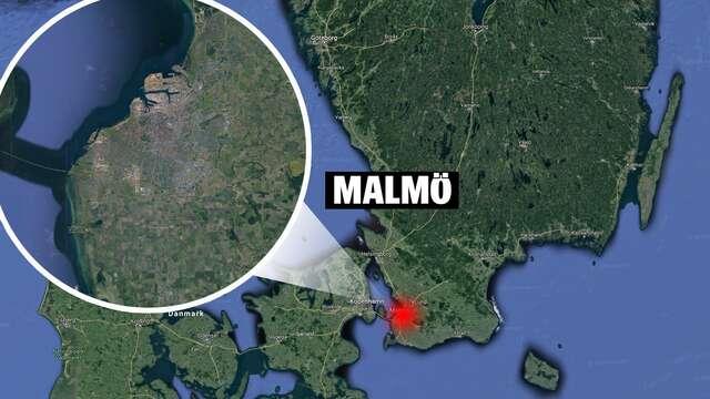 MALMÖ'DE BİR APARTMAN GİRİŞİNDE PATLAMA MEYDANA GELDİ