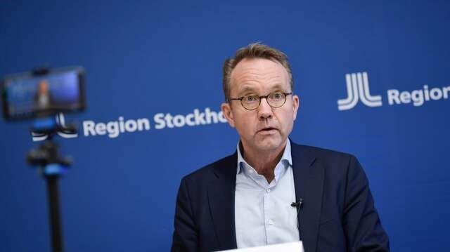 STOCKHOLM BÖLGESİ: PANDEMİ HAKKINDA BASIN TOPLANTISI DÜZENLEDİ