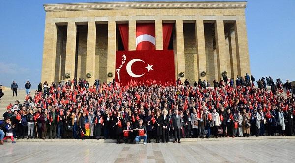 ANITKABİR'E REKOR ZİYARET: YÜZDE 41.8 ARTTI