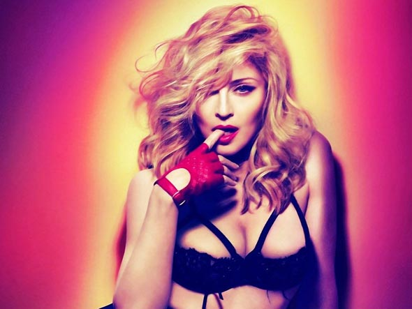 Madonna da tecavüze uğramış…