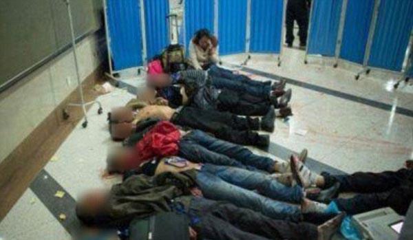 Çin'de palalı dehşet: 33 ölü!