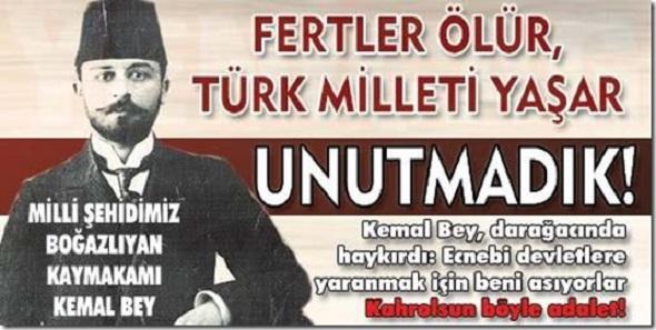 Çocuklarımı asil Türk milletine emanet ediyorum...
