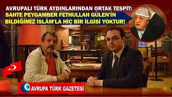 FETHULLAH GÜLEN'İN İSLAM'LA İLGİSİ YOKTUR!