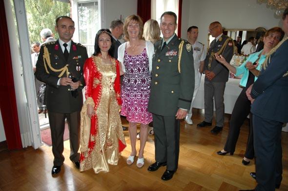 30 Ağustos Zafer Bayramı verilen Resepsiyonla Stockholm'da kutlandı