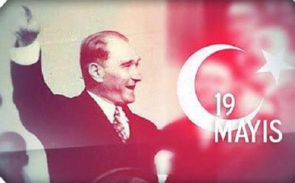 19 Mayıs Atatürk'ü Anma, Gençlik ve Spor Bayramı'nın 98. Yıldönümü