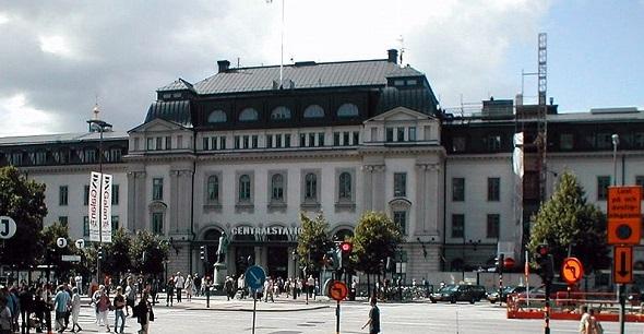 STOCKHOLM MERKEZ TREN GARI BOŞALTILDI