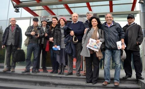 İsveçli ve Yabancı Gazetecilerin Türkiye Ziyareti