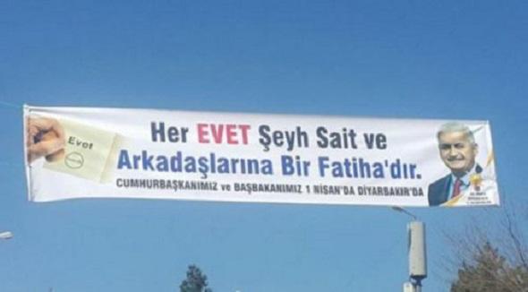 UTANMAZLIĞIN BÖYLESİ AKP'NİN REFERANDUM AFİŞİNE YANSIDI