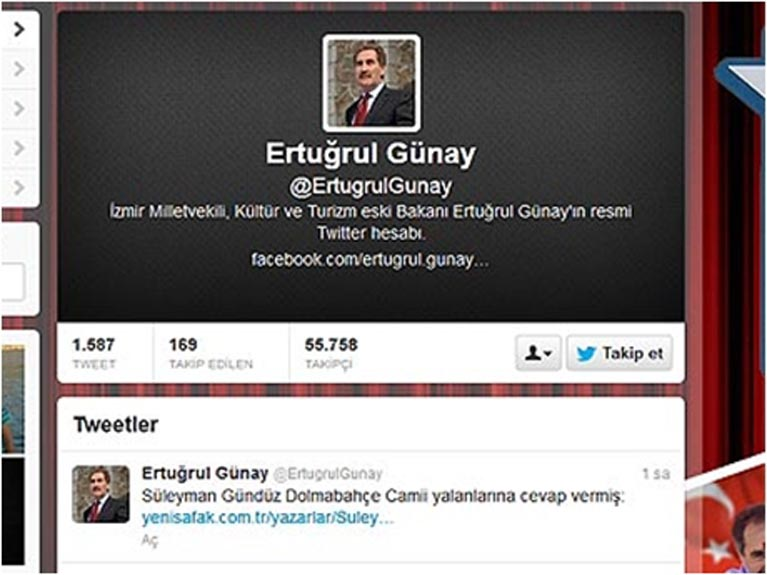 Erdoğan konuşurken dikkat çekici tweet