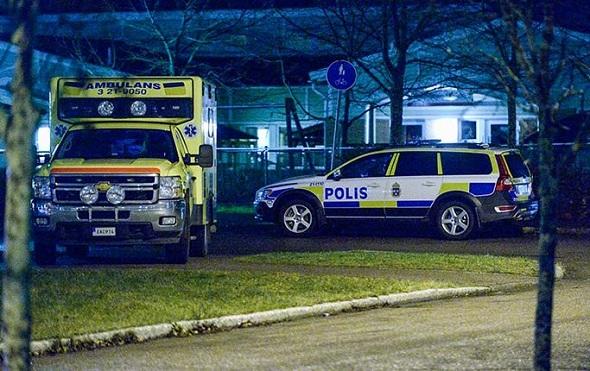 Uppsala'da bomba alarmı