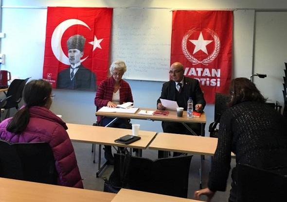 VATAN PARTİSİ/İSVEÇ 1. OLAĞAN KONGRESİNİ YAPTI