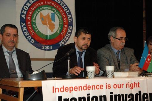 Güney Azerbaycan Diasporası Stockholm'da Toplandı