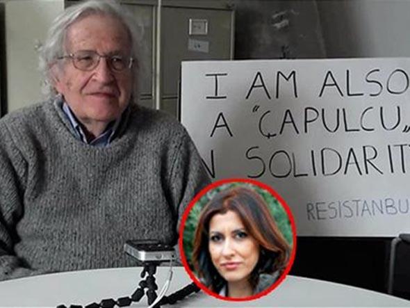 Chomsky röportajı için özür geldi