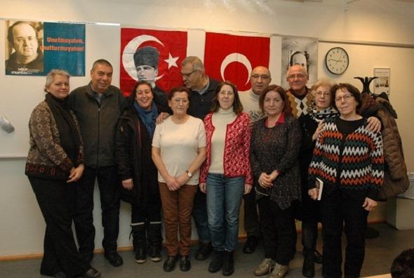 İsveç Türk Düşünce ve Kültür Derneği Kongresini yaptı
