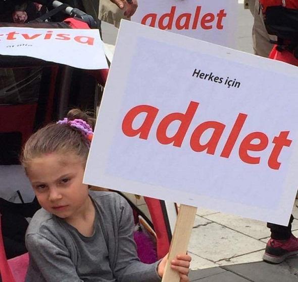 STOCKHOLM'DA 'ADALET' DEDİ
