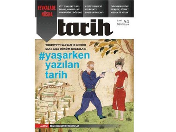 Gezi Parkı kapağı NTV Tarih Dergisi'ni kapattırdı