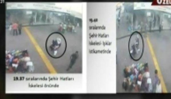 Kabataş'ta dövüldüğünü ileri süren türbanlı kadının görüntüleri ortaya çıktı