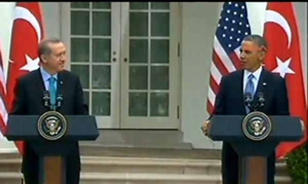 Erdoğan Obama ortak basın toplantısı!..
