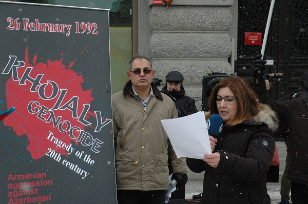 STOCKHOLM'DA HOCALİ SOYKIRIMI ANILDI