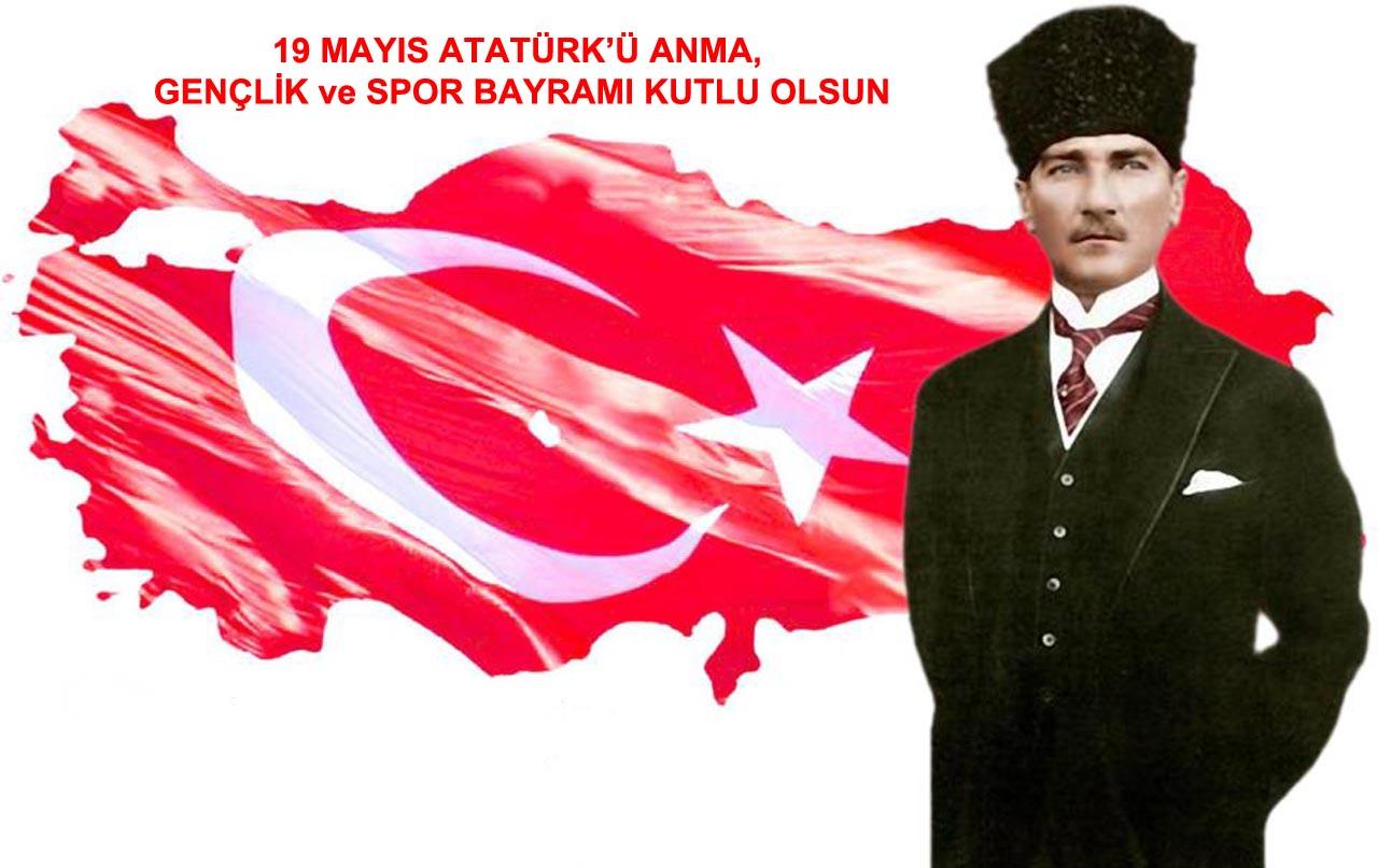 19 Mayıs Atatürk'ü Anma, Gençlik ve Spor Bayramı'nın 94. yıldönümü