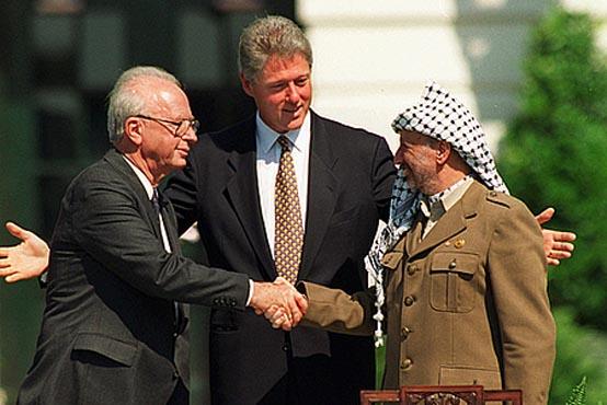İsrail ile Filistin Barış Masasında