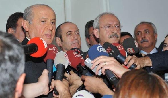 CHP ve MHP 'çatı aday' için anlaştı