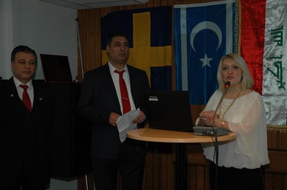 İsveç Irak Türkmeneli Federasyonu 1.yılını kutladı
