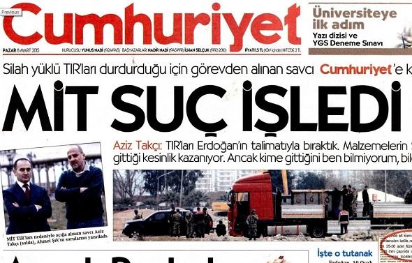 CUMHURİYET GAZETESİ'NE DESTEK VERMEK,  TÜRKİYE CUMHURİYETİ'NE DESTEK VERMEKTİR...