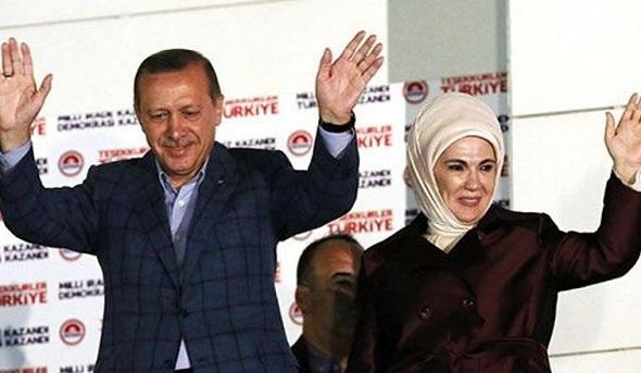 Tayyip Erdoğan 12. Cumhurbaşkanı seçildi