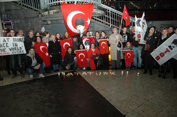 TGB, 10 Kasım Atatürk'ü Anma Günü düzenledi