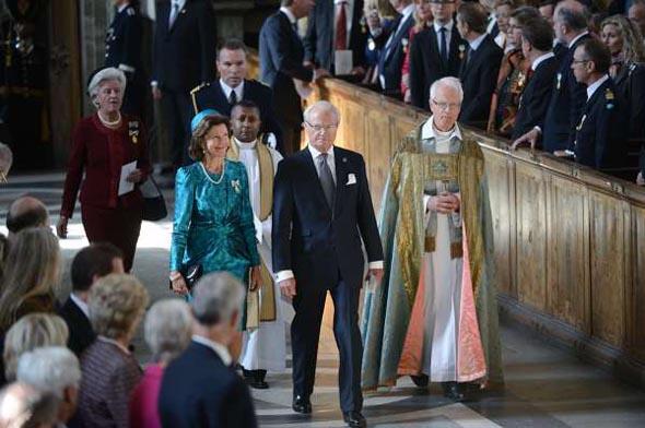 İsveç Kralı tahta çıkışının 40'ncı yılını kutluyor