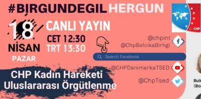CHP KADIN HAREKETLERİ VE ULUSLARARASI ÖRGÜTLENME ÇALIŞMALARI