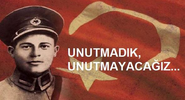 DEVRİM ŞEHİDİ KUBİLAY'I SAYGIYLA ANIYORUZ