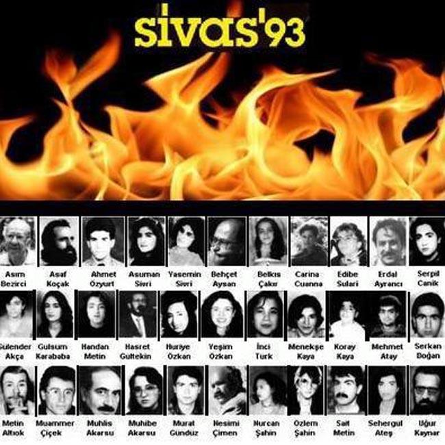 Sivas'ı Unutmadık!