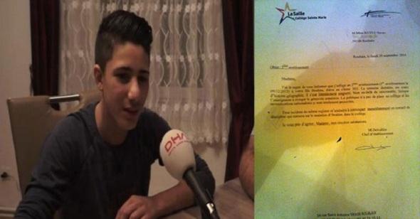 Fransa'da soykırımı reddeden öğrenci okuldan atıldı