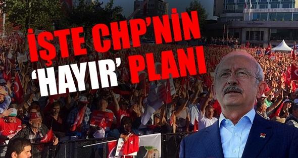 CHP, 'HAYIR BLOĞU'NU GENİŞLETECEK