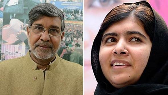 Nobel Barış Ödülü, Malala ve Satyarthi'ye verildi