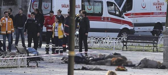 CANLI BOMBA IŞİD'Lİ ÇIKTI