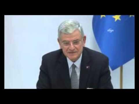 AB Bakanı Bozkır, Türk Kökenli Bakan Kaplan ile Görüştü