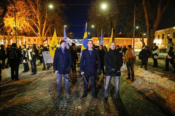 Norrköping Belediyesi Nazistleri 'Schindler's list' filminin müziğiyle karşıladı