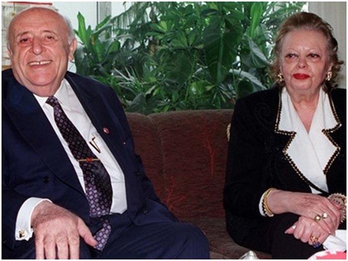 9.Cumhurbaşkanı Süleyman Demirel'in eşi vefat etti