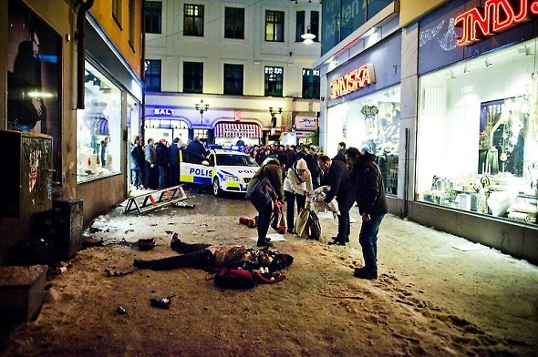 İsveçlilerin üçte biri İsveç'te olabilecek terör saldırısından tedirgin
