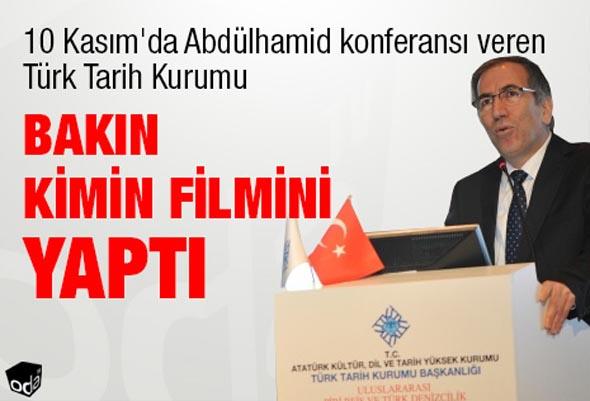 TÜRK TARİH KURUMU'NDAN 'VAHİDETTİN' FİLMİ