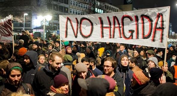 Pegida gösterileri durmuyor
