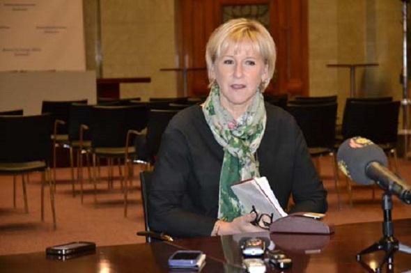 İsrail, Margot Wallström'ün ziyaretine 'hayır' dedi.